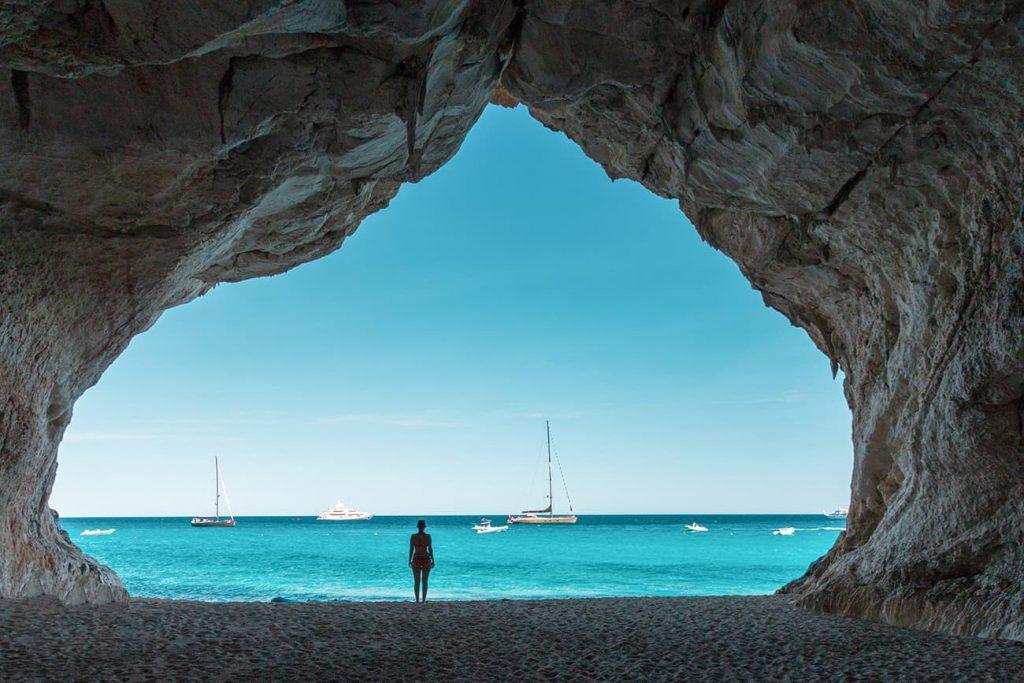 Cala Luna Beach in Sardinia, Italy