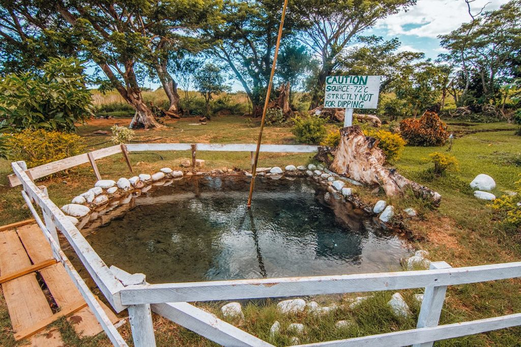 Sabeto Hot Springs and Mud Pool in Nadi, Fiji