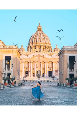 The Vatican City in Rome for 3 Days Itinerary