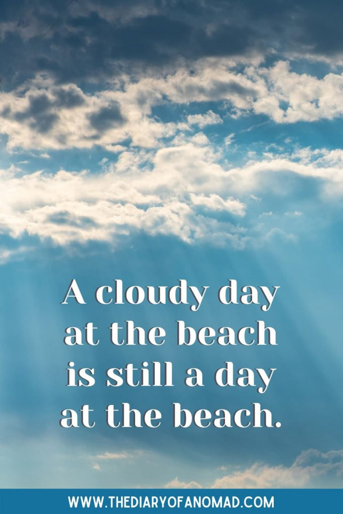 A Quote About A Day At The Beach