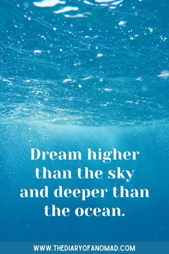 An Inspirational Beach Quote
