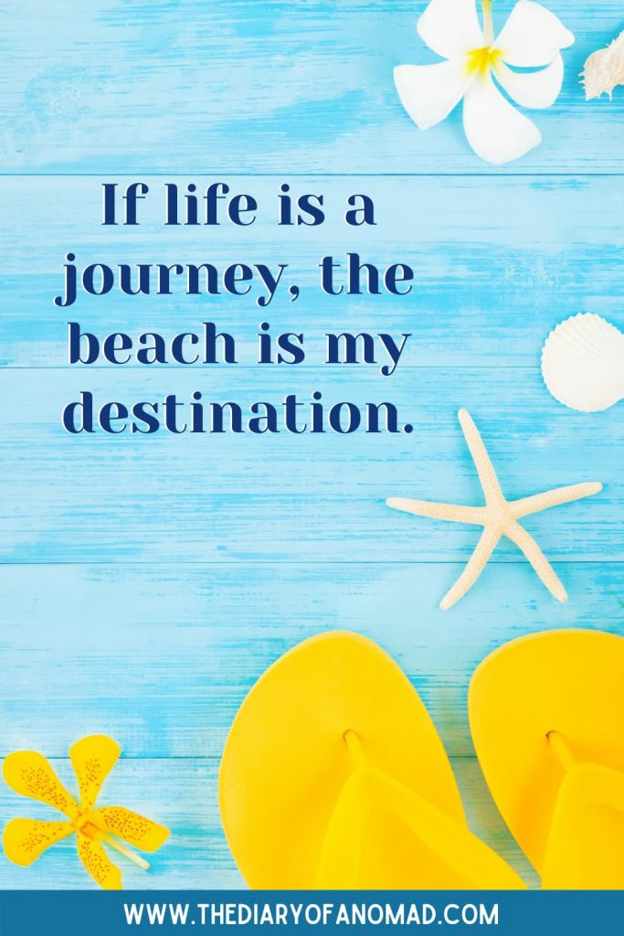 Beach Quotes About Life