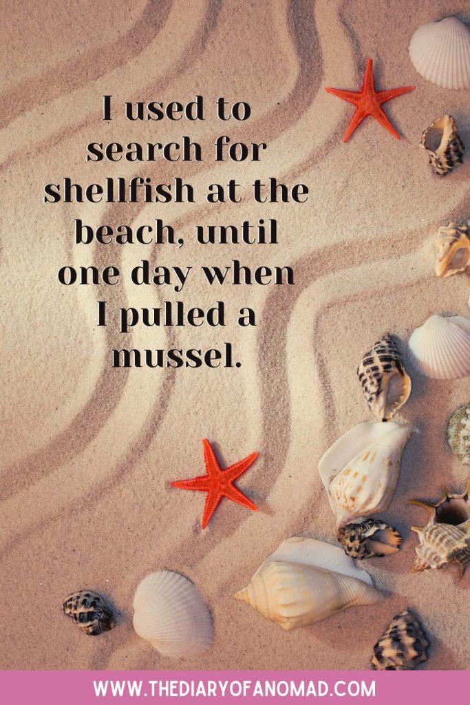A Funny Beach Saying