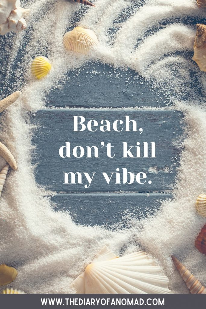 A Funny Beach Quote