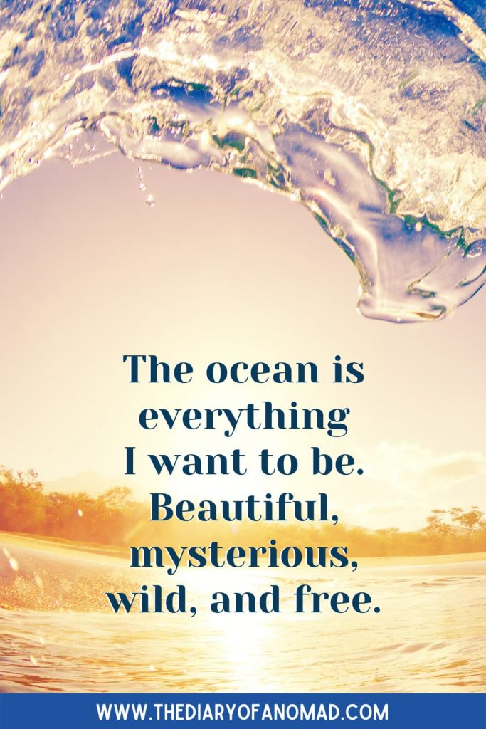 A Message About the Ocean Surrounded By Water