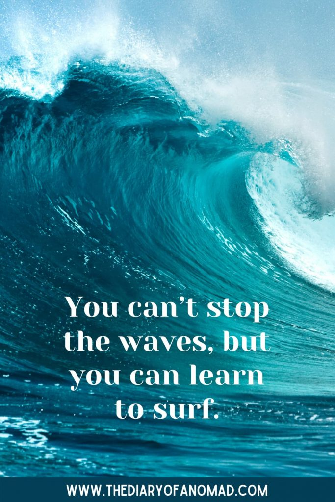 An Inspirational Quote About the Beach