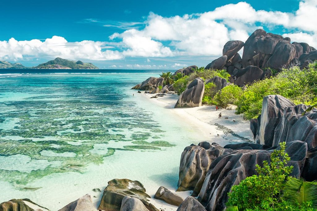 Quotes About Beaches: A Beautiful Beach in Seychelles