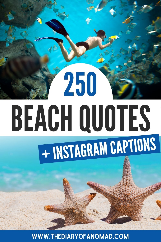 Travel quotes inspirational, travel quotes Instagram, beach quotes Instagram caption