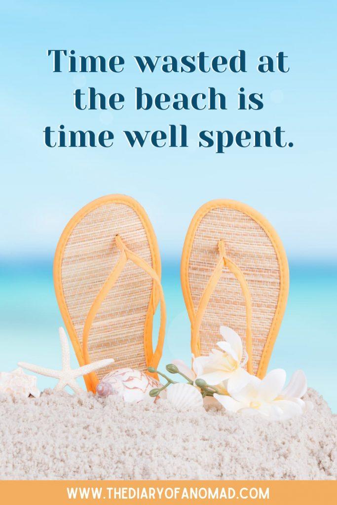 Flip Flops on the Sand