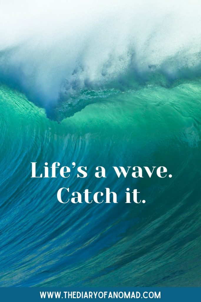 A Short Beach Quote