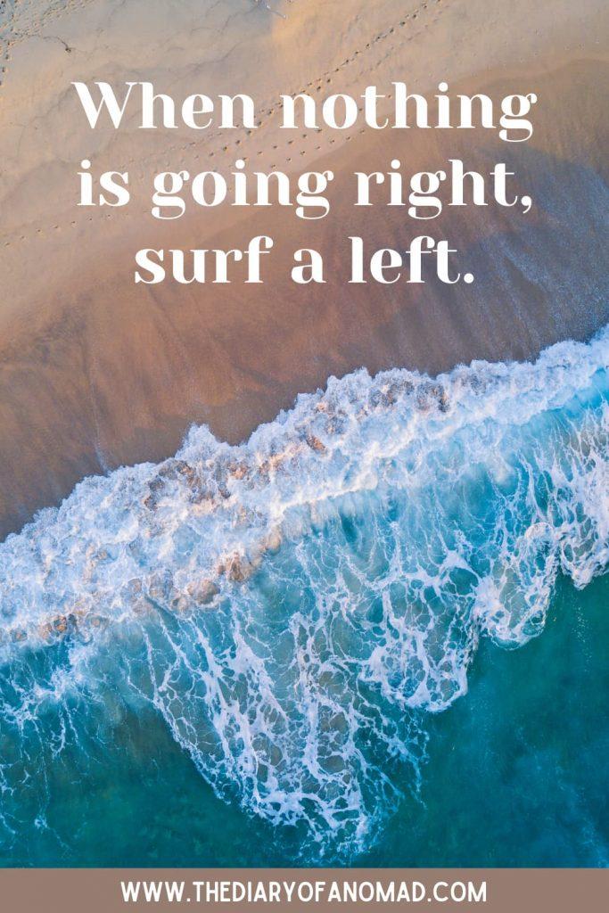 A Short Beach Saying
