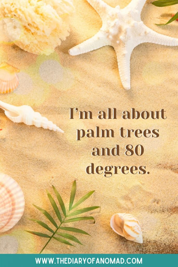 A Quote About Summer at the Beach