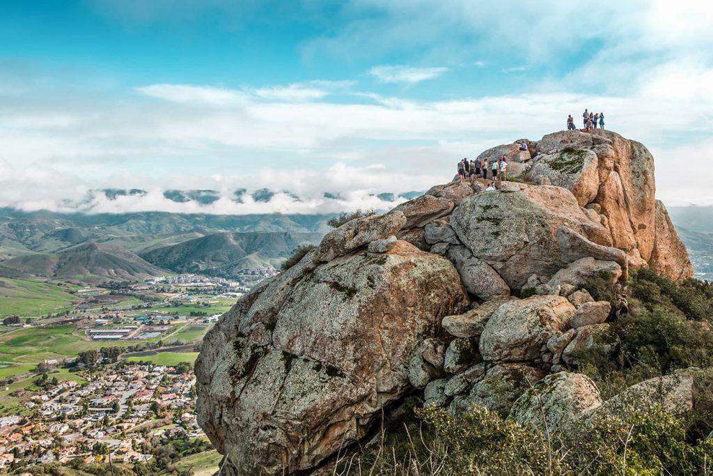 San Luis Obispo from Bishop Peak in California