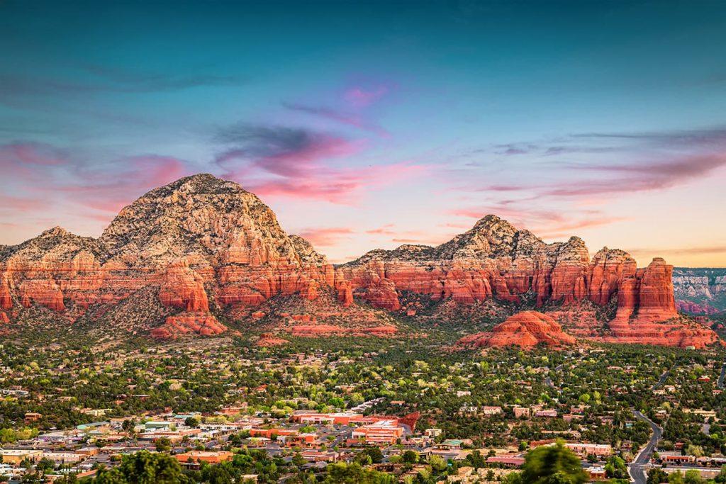 Rock Landscapes in Sedona, Arizona, USA