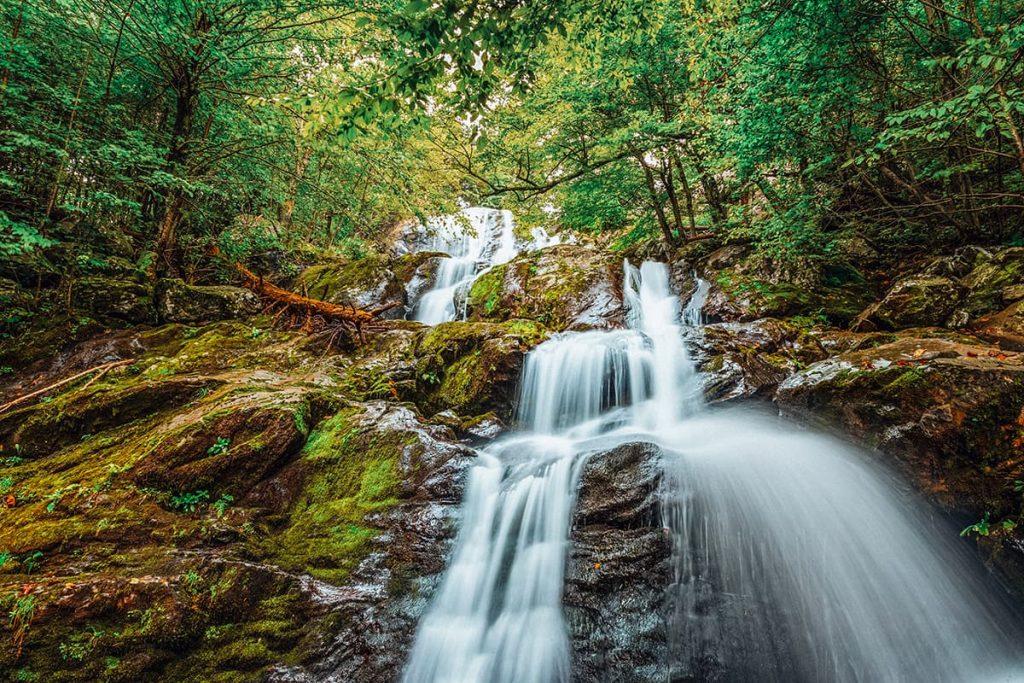 A Waterfall in Shenandoah National Park, Virginia