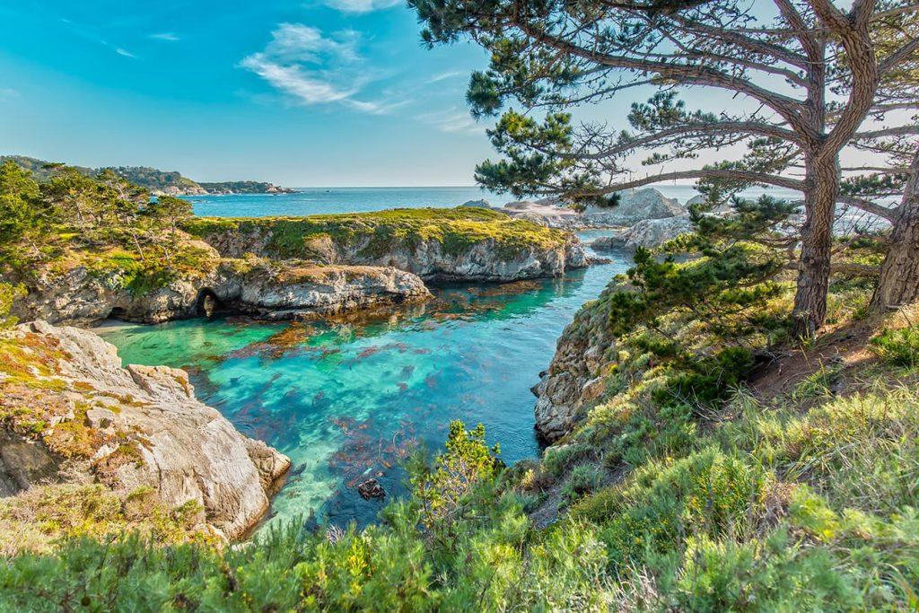 Point Lobos State Reserve Near Carmel-by-the-Sea, California