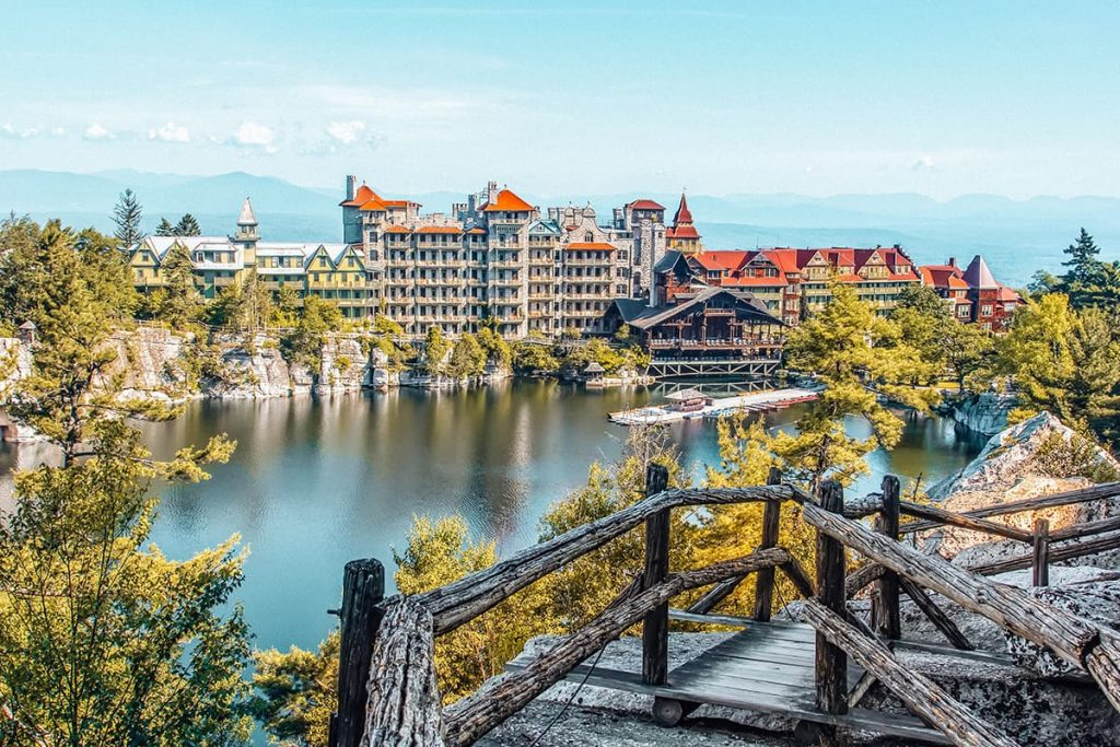 Mohonk Mountain House in Hudson Valley, New York