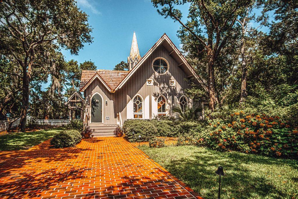 A Chapel in Bald Head Island, North Carolina