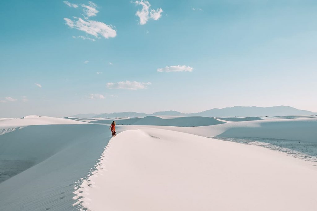 White Sands National Park in New Mexico, USA
