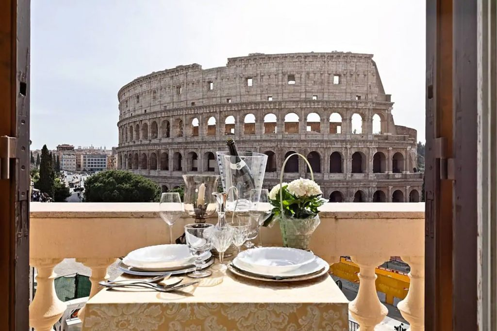 A Flat in Rome With a View of the Colosseum