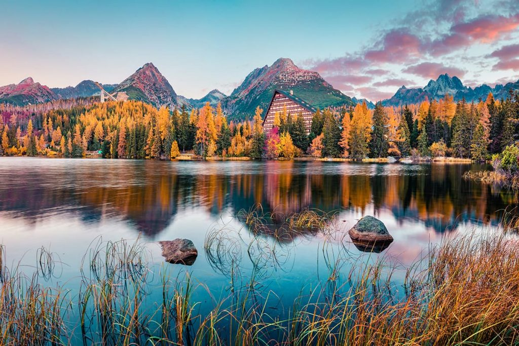 A Lake in the High Tatras, Slovakia