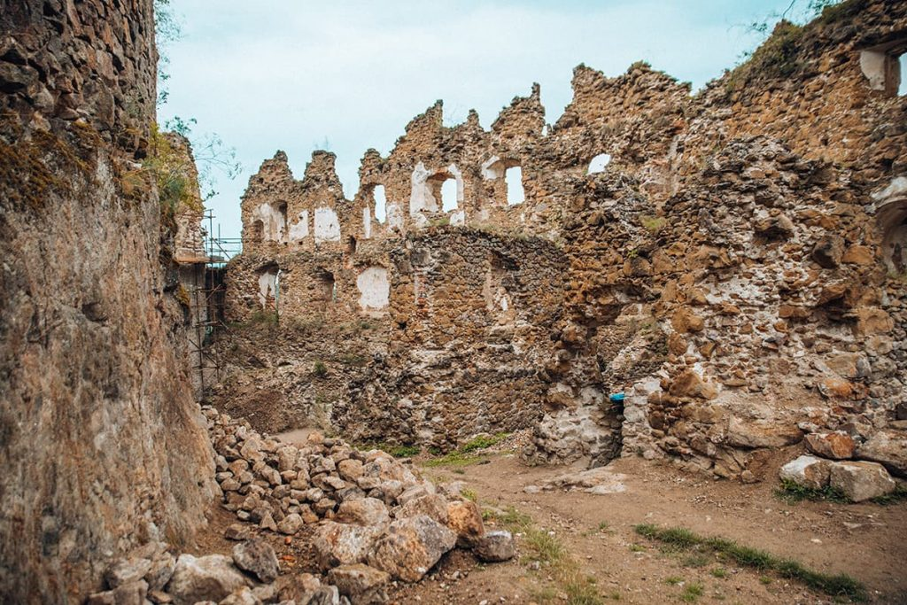The Ruins of Sasov Castle, Slovakia