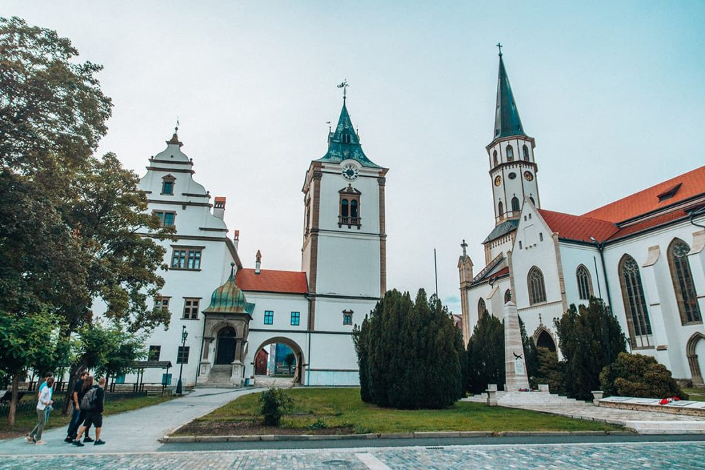 The City of Levoca in Slovakia