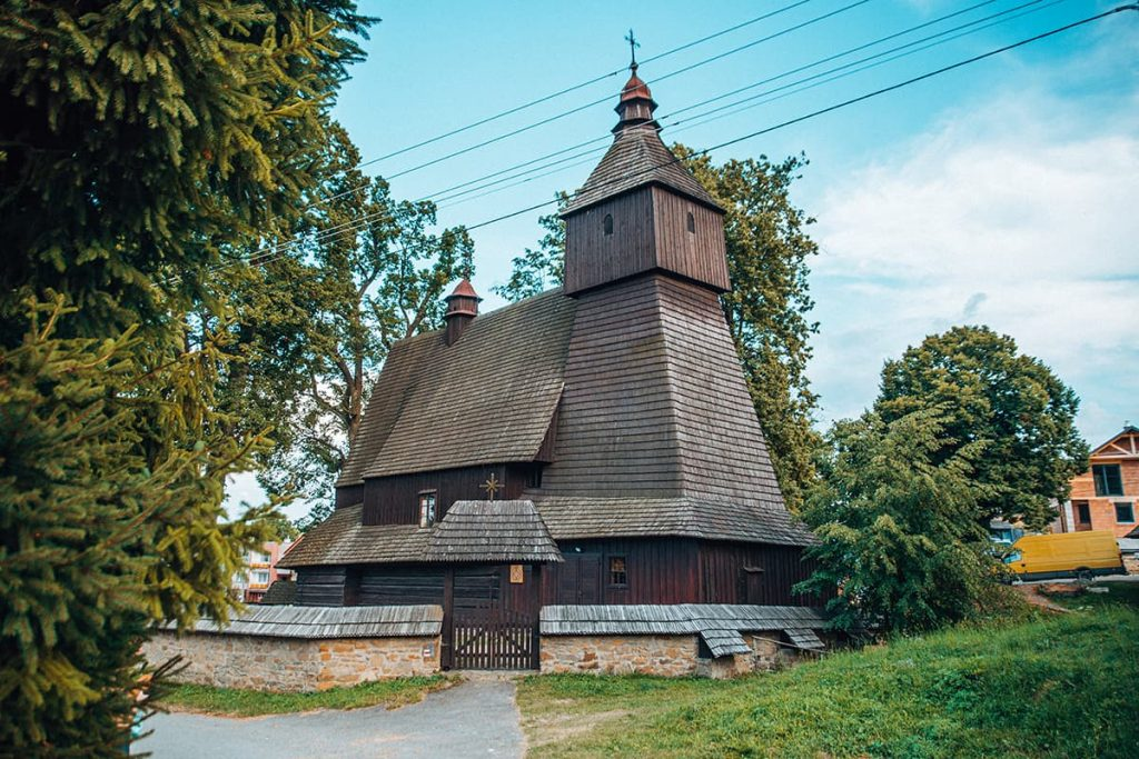 Wooden Church in Hervatov, Slovakia