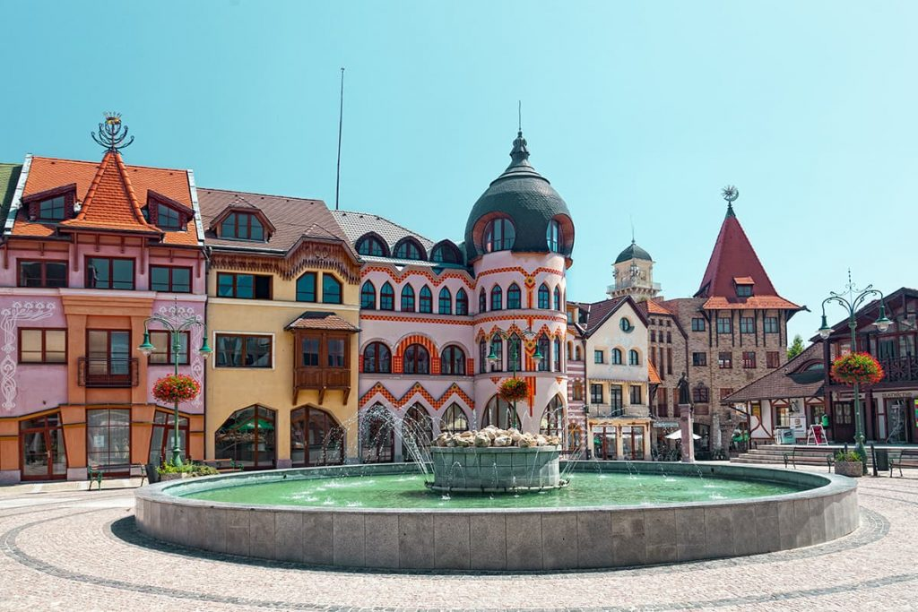 The City of Komarno in Slovakia
