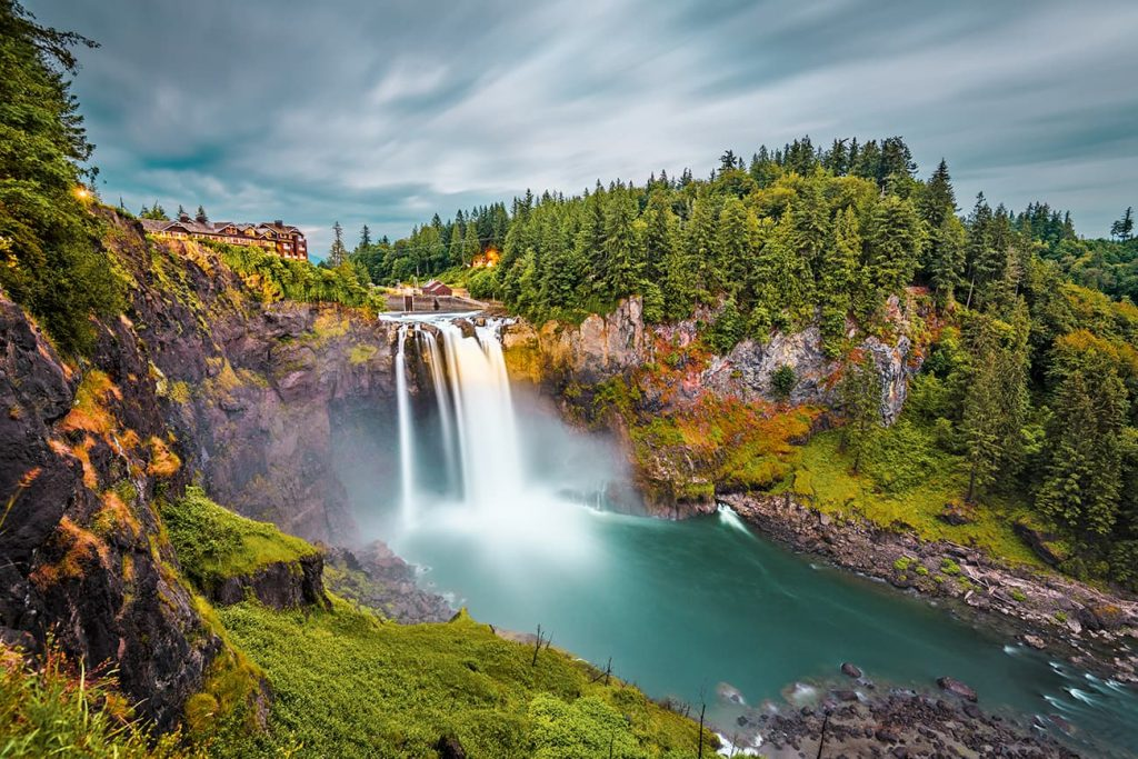 A Waterfall in the USA