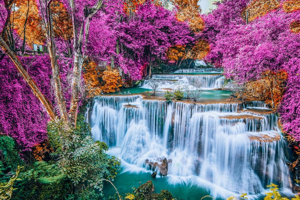 A Waterfall in Thailand