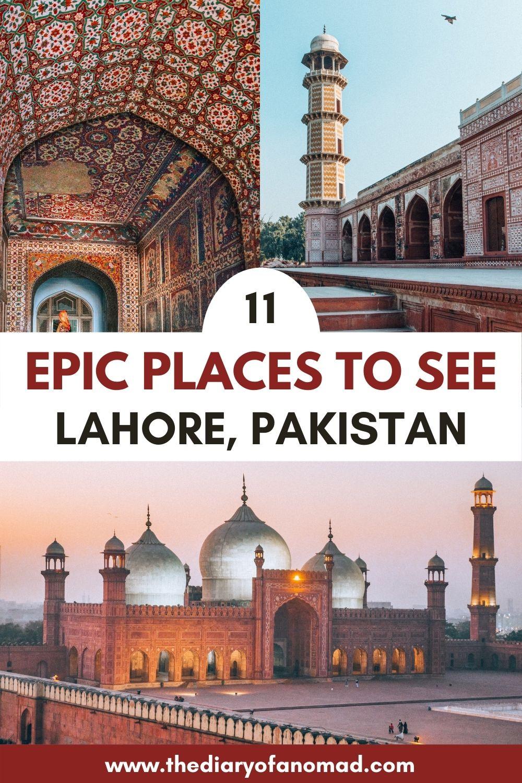 Pakistan travel inspiration, Lahore Pakistan, best places to visit in Lahore, Lahore Pakistan travel